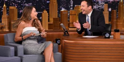 Sofía Vergara fue invitada de Jimmy Fallon Foto: Getty Images
