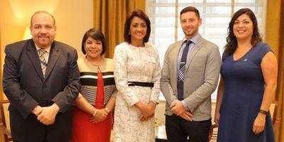Primera dama expone bondades del CAID ante colegas de varios países en NY