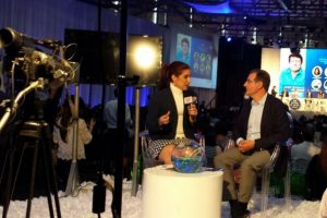 Medios de comunicación estuvieron en vivo desde el FOA Foto:Fuente Externa