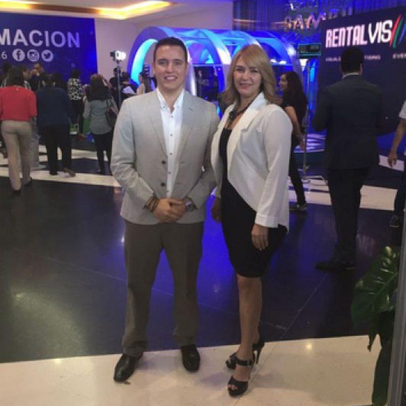 Guisel Taveras, de Metro RD en el evento. Foto:Fuente Externa
