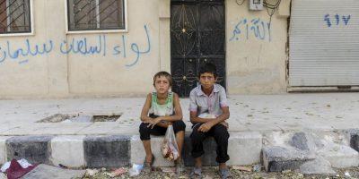 Según UNICEF, el 80 de los niños ha sido afectado Foto:Getty Images