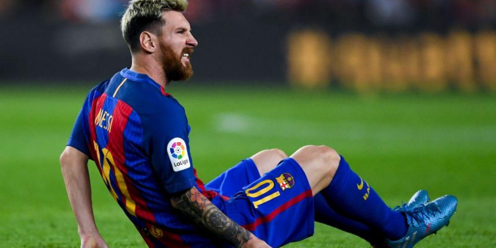 El argentino se lesionó en el partido ante Atlético de Madrid. Foto:Getty Images