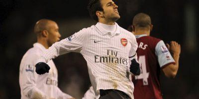 Cesc Fabregas es el cuarto mejor fichaje de Arsene Wenger Foto:Getty Images