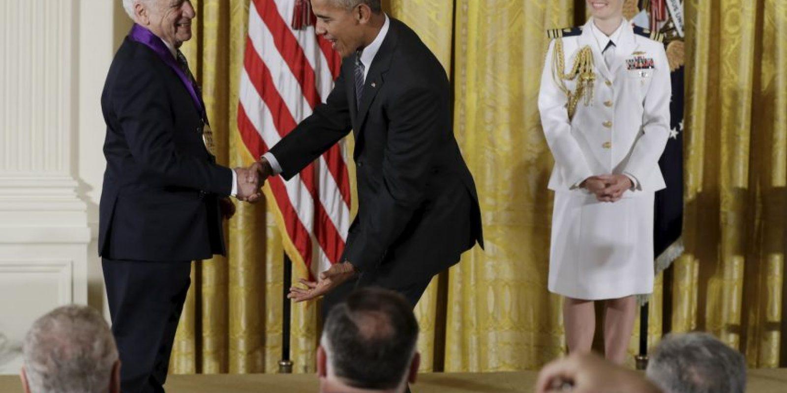 Ambos terminaron compartiendo una carcajada Foto:AP