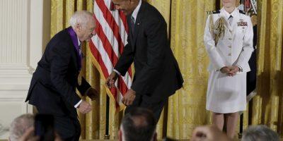 El protagonista fue el reconocido actor Mel Brooks Foto:AP
