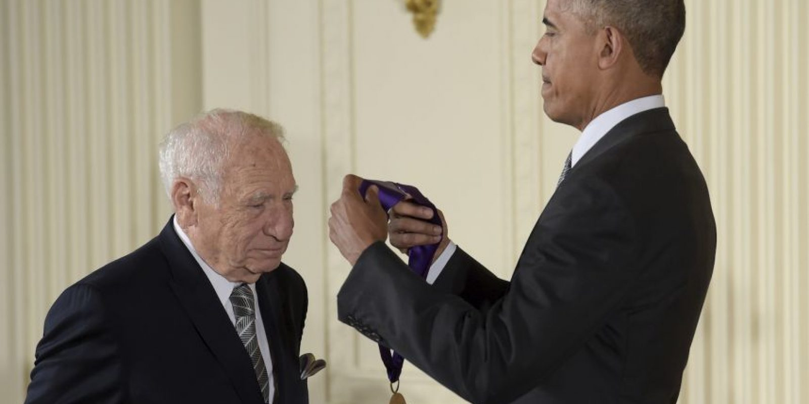 Barack Obama fue víctima de una broma Foto:AP