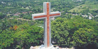 La cruz de Santo Cerro Foto:@GUZMAN2000MN