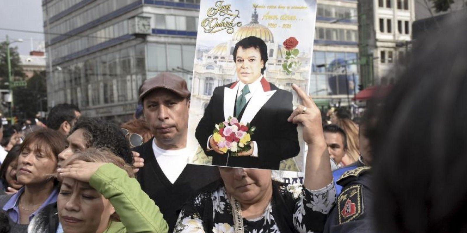 Así fue el homenaje a Juan Gabriel en la Ciudad de México Foto:Grosby Group