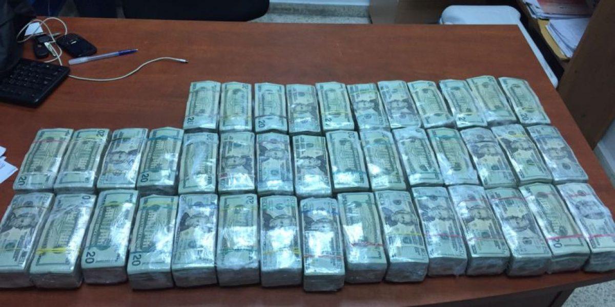 DNCD decomisa casi 30 kilos de cocaína y 410.000 dólares en Jimaní