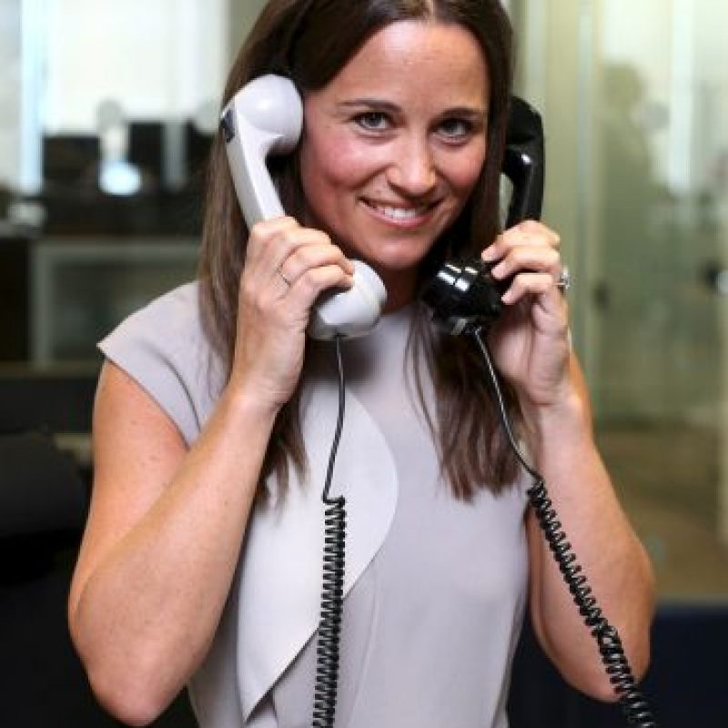 Pippa Middleton es la hermana menor de Kate Middleton, la duquesa de Cambridge Foto: Getty Images