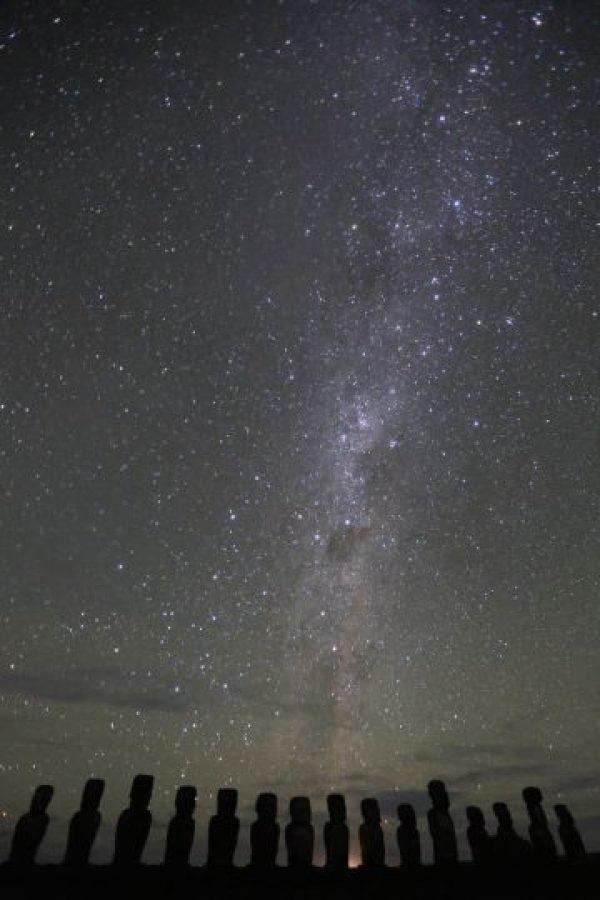 El ecuador galáctico sobre la Isla de Pascua Foto: Flickr, Creative commons