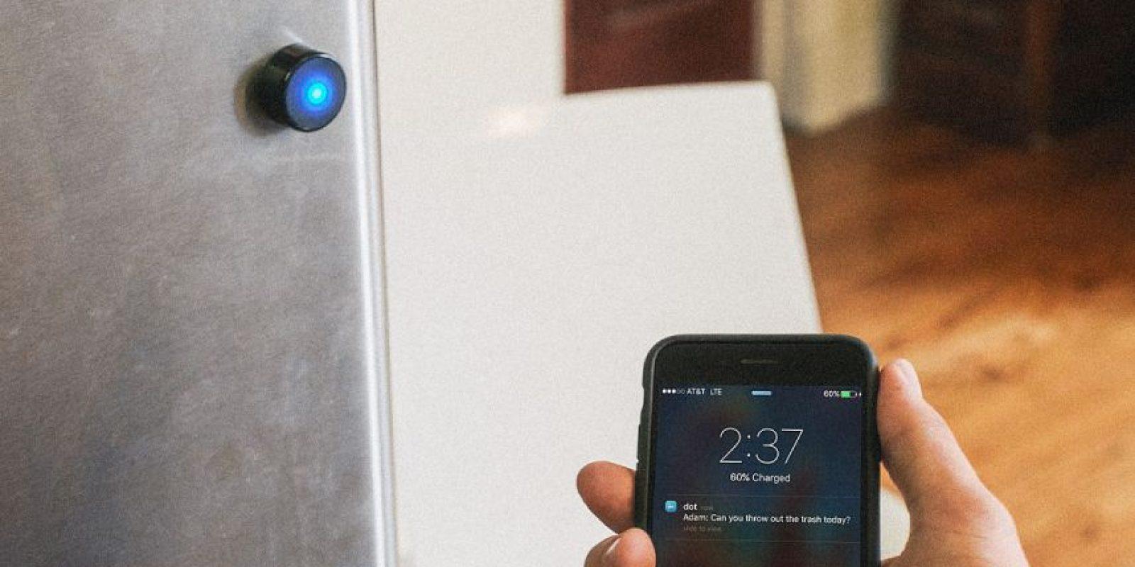 El dispositivo, se conecta a tu teléfono inteligente a través de Bluetooth 4.0 Foto:doteverything.co