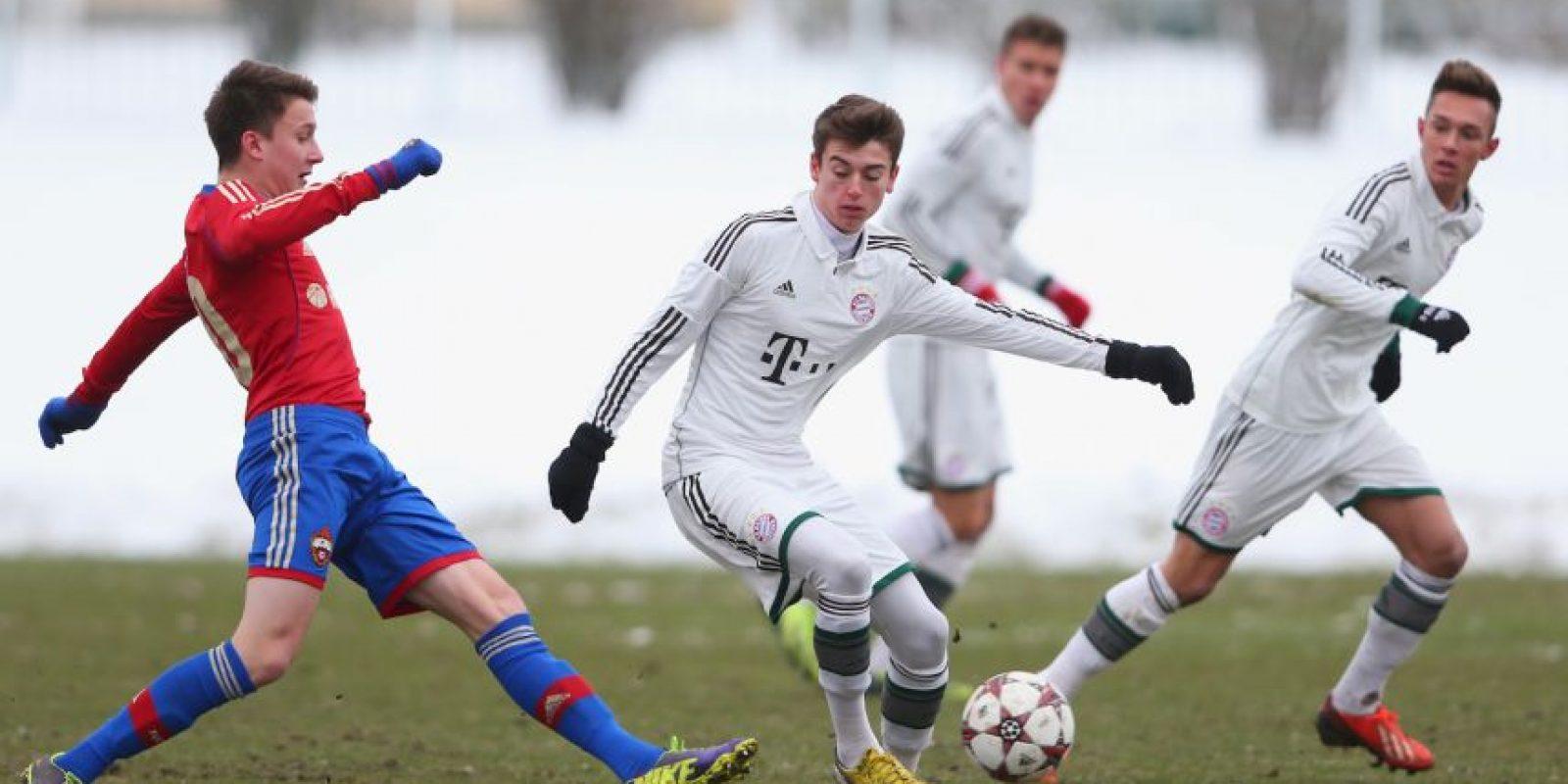 El hijo de Mehmett Scholl está buscando su lugar en Bayern Munich. Foto:Getty Images