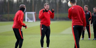 Podolski salió a defender a Schweinsteiger y criticó a Mourinho