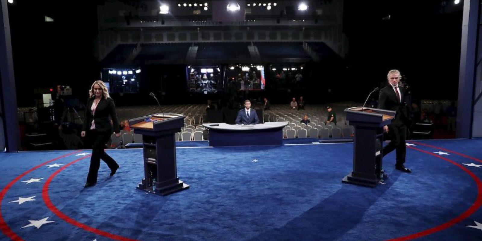Ya se realizaron ensayos en el escenario Foto:Getty Images