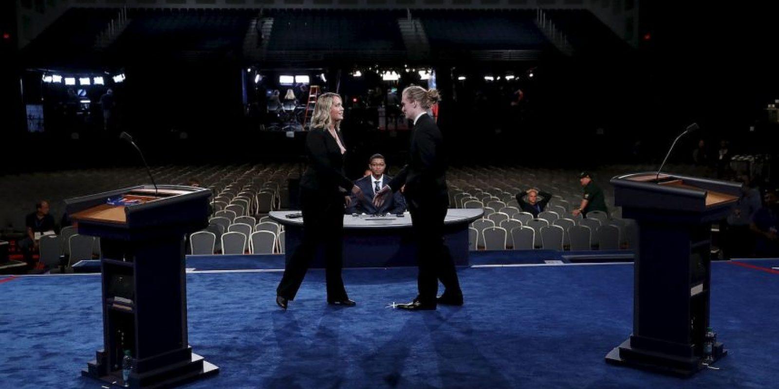 Todo está listo para el primer debate presidencial Foto:Getty Images
