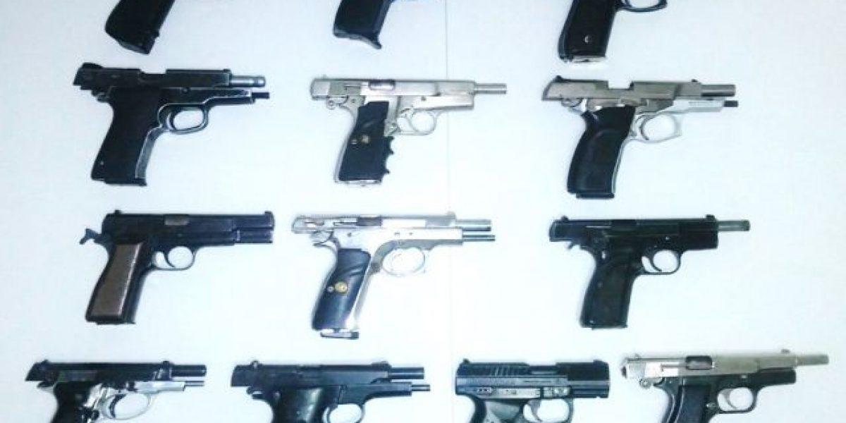 Ministerio de Defensa incauta armas y motocicletas en vivienda de Bonao
