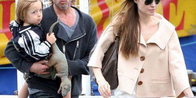 Sale a la luz foto de Angelina Jolie y Brad Pitt peleando