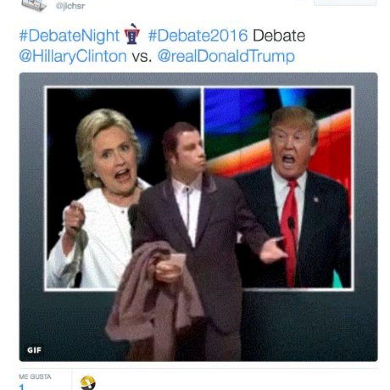 Esto son algunos de los memes que dejó el debate presidencial Foto:Twitter