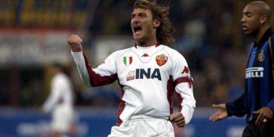 El 20 de septiembre de 2015 anotó su tanto 300 con los capitalinos y se transformó en el jugador que más tantos ha hecho por un equipo italiano. Ya suma 306 Foto:Getty Images
