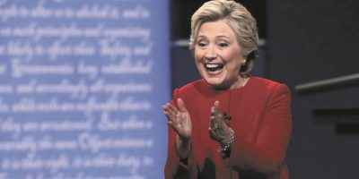 """Plan secreto"" de Trump""En verdad, no creo que tengas ninguna estrategia (para vencer a Isis)""Hillary Clinton, candidata demócrata Foto:Getty"