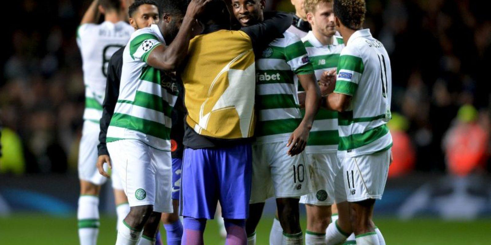 Celtic fue el encargado de amargar a los Citizens Foto:Getty Images