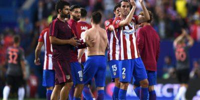 Los Colchoneros vencieron por 1 a 0 al equipo de Carlo Ancelotti Foto:Getty Images