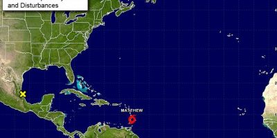 Se forma Matthew, la decimotercera tormenta tropical de la temporada