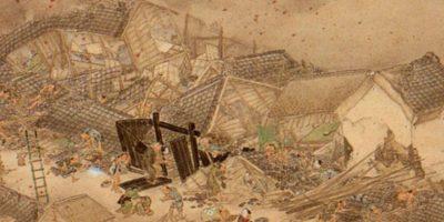 El terremoto de 1855 en Japón no fue precedido por ninguna Luna Negra. Foto:Wikipedia