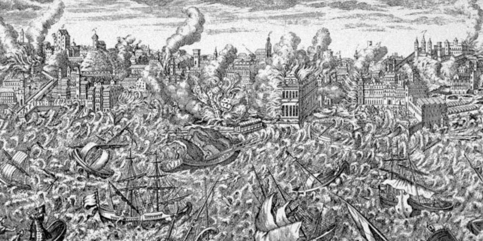 Ni siquiera con el terremoto de Lisboa en el siglo XVIII. No hubo una Luna Negra de antesala.