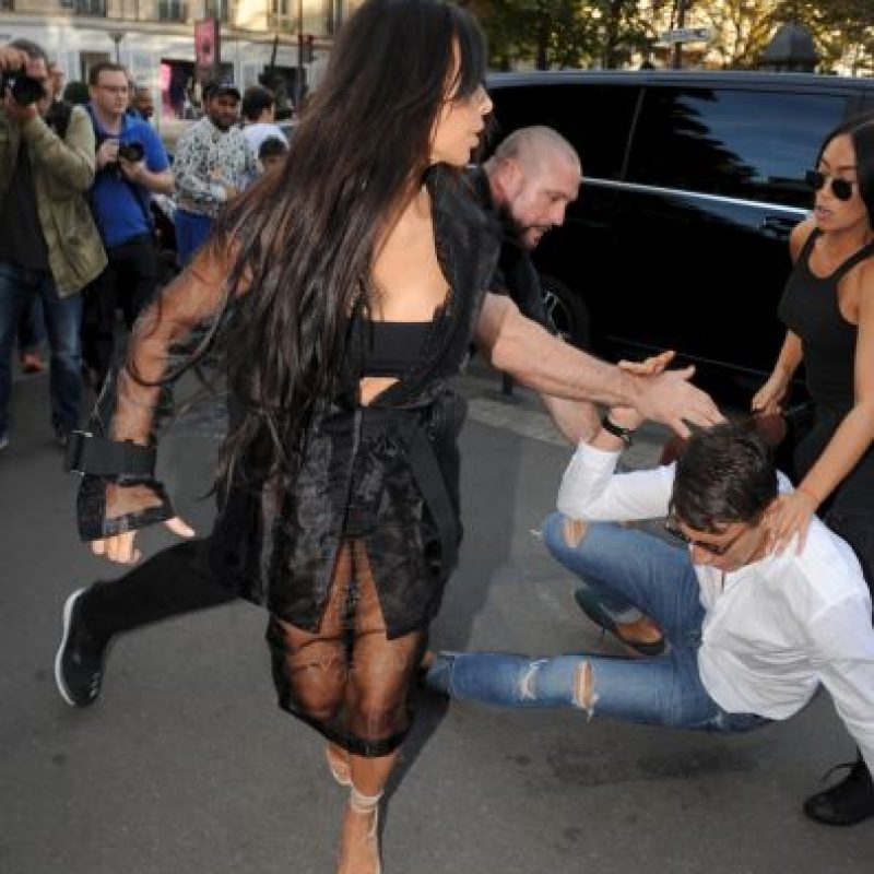 El mismo que agredió a Gigi Hadid la semana pasada Foto:Grosby Group