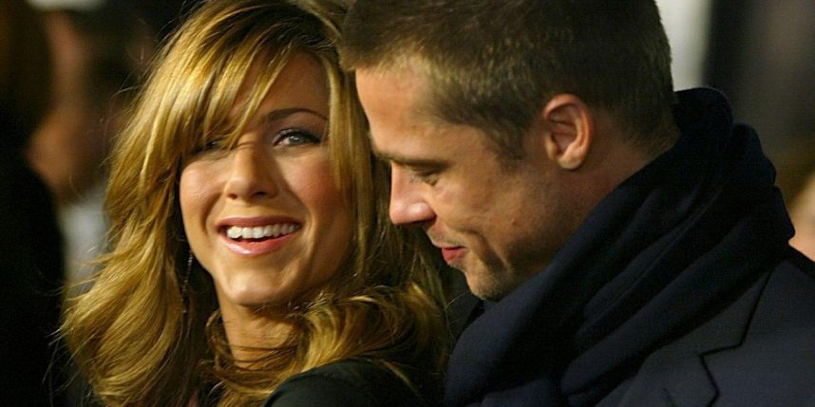 Esto antes de que Angelina Jolie anunciara el divorcio de Brad Foto:Getty Images