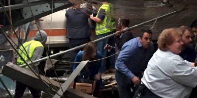 Aún se investiga si la velocidad del tren fue un factor en el accidente Foto:Getty Images