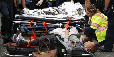 Además de tres heridos de gravedad Foto:Getty Images