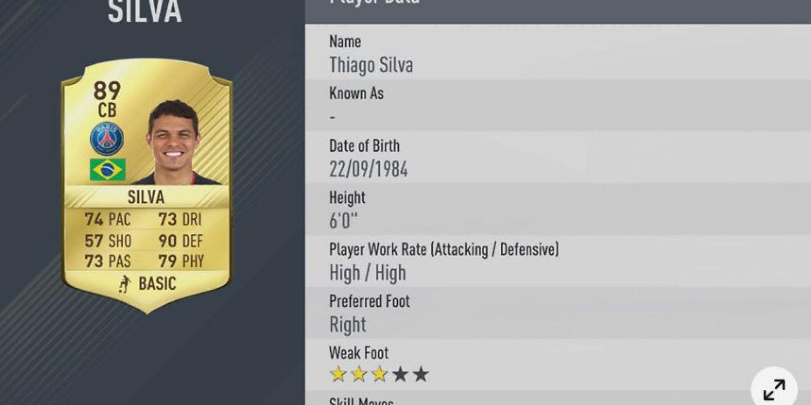 16.- Thiago Silva
