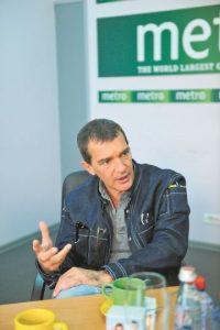 Antonio Banderas Foto:MetroRD