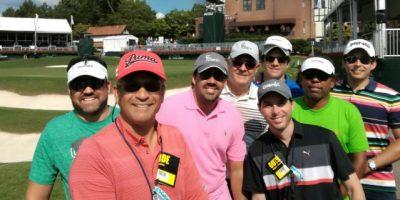 Ganadores Golf Claro asistieron a Fedex Cup