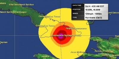 Matthew se mantiene fuerte e impactará a Jamaica y Cuba