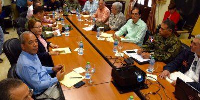 Ministro de la Presidencia encabeza reunión con organismos ante huracán Matthew