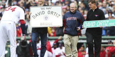 Una calle y un puente llevarán el nombre de David Ortiz Foto:Red Sox