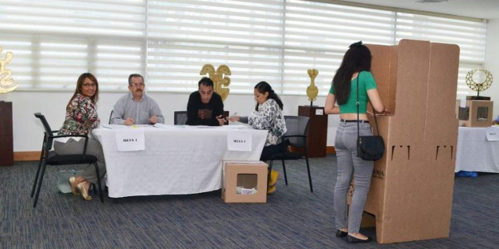 Cerca de 188 colombianos estaban habilitados para votar en RD Foto:Mario de Peña
