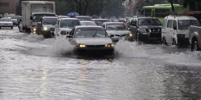 Matthew provoca inundaciones en gran parte de las calles de RD