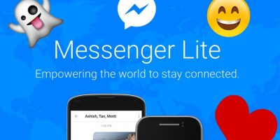 Llegó Facebook Messenger Lite y esta es su función