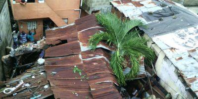 Dos niños mueren en Capotillo al derrumbarse casa por lluvias de Matthew