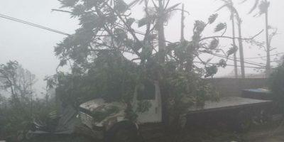 En Haití, Matthew ha impactado con fuerzas Foto:Twitter