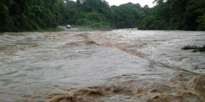 Un río en la provincia Hato Mayor Foto:Twitter