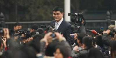 Houston retirará la camiseta número 11 del chino Yao Ming