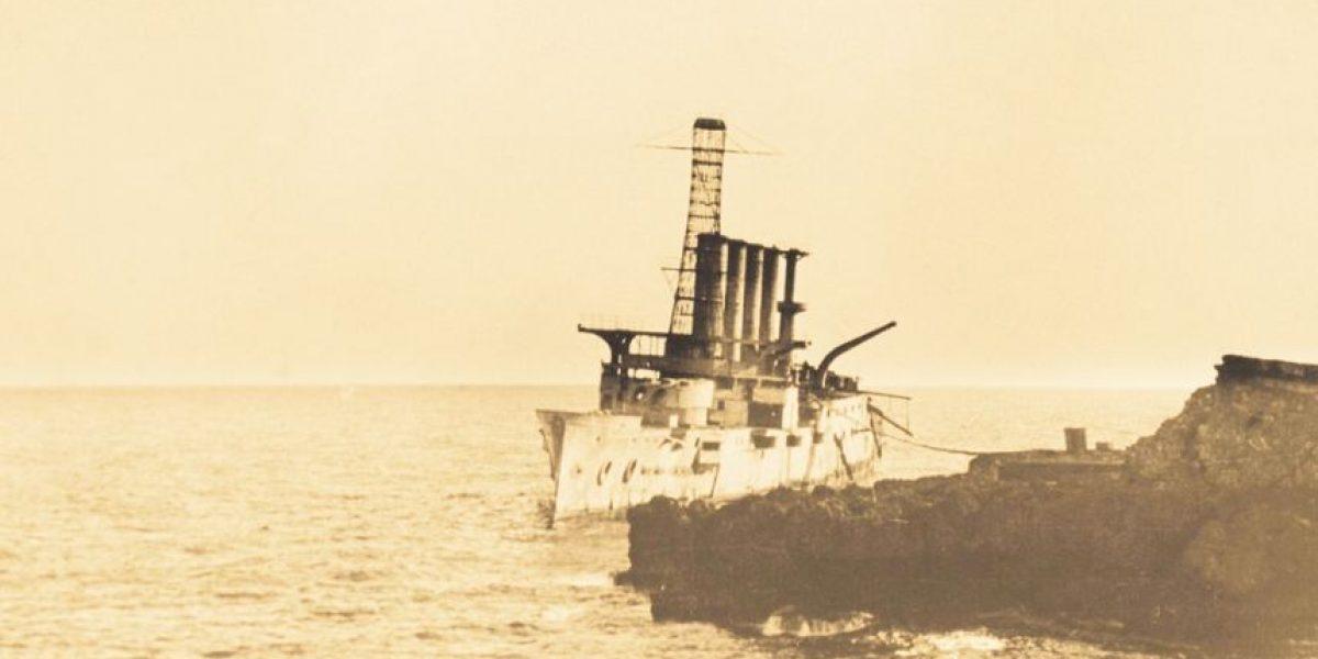 Aniversario 100 del naufragio                          USS Memphis, en fotografías