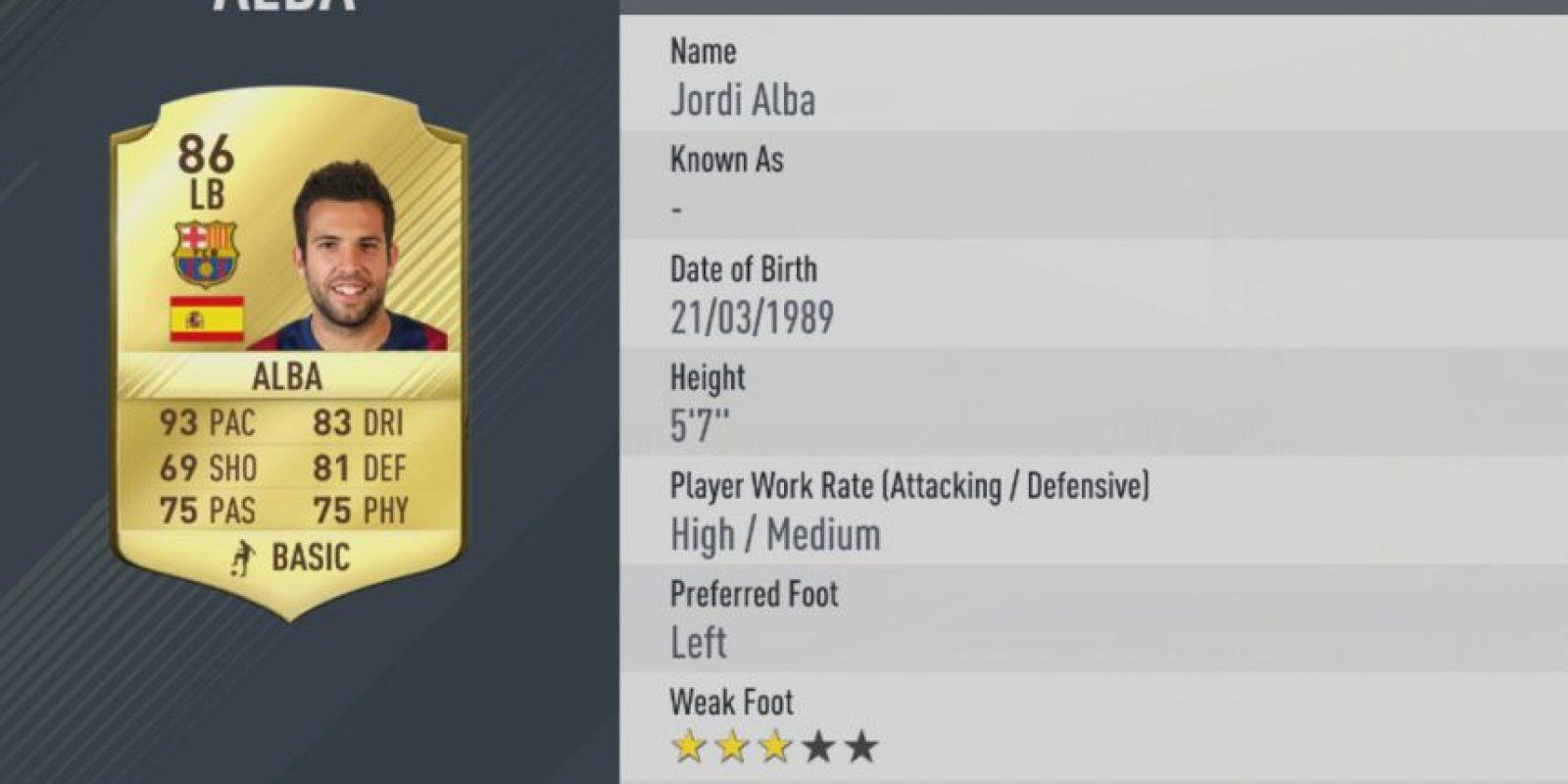 16.-Jordi Alba–Barcelona (93) Foto:EA Sports