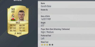 7.-Gareth Bale–Real Madrid (94) Foto:EA Sports